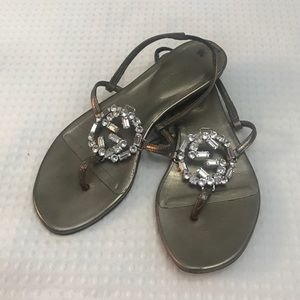Gucci Swavorski Crystal Sandals